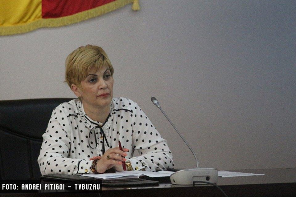 Aurelia Mitrea, noul prefect al judeţului Buzău.